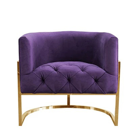 modern design chinese modern round single recliner sofa chair for living room