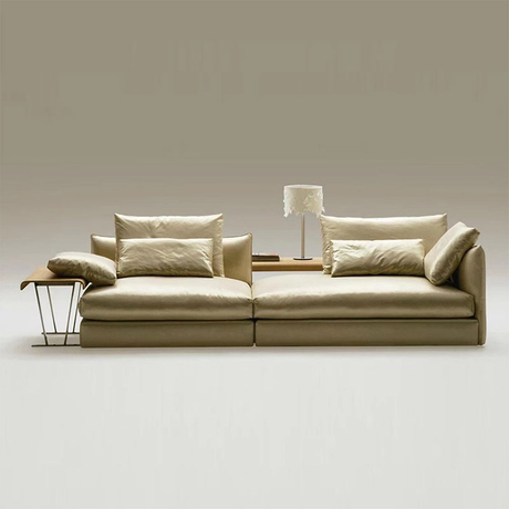 Delicate Contact surface leather Head layer cowhide Customizable Customizable sofa cum bed