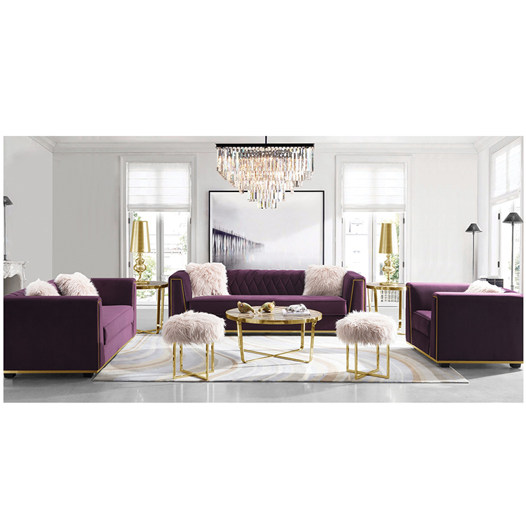 new product contemporary furniture pink simple style victorian sofa sets