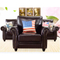 Corner chaise longue combination modern minimalist living room small apartment leather art sofa