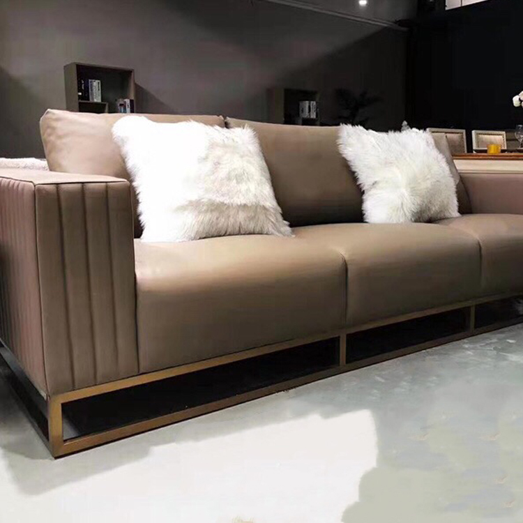 Factory price custom modern modern large sectional 7 3 seater leather recliner corner sofa set with legs