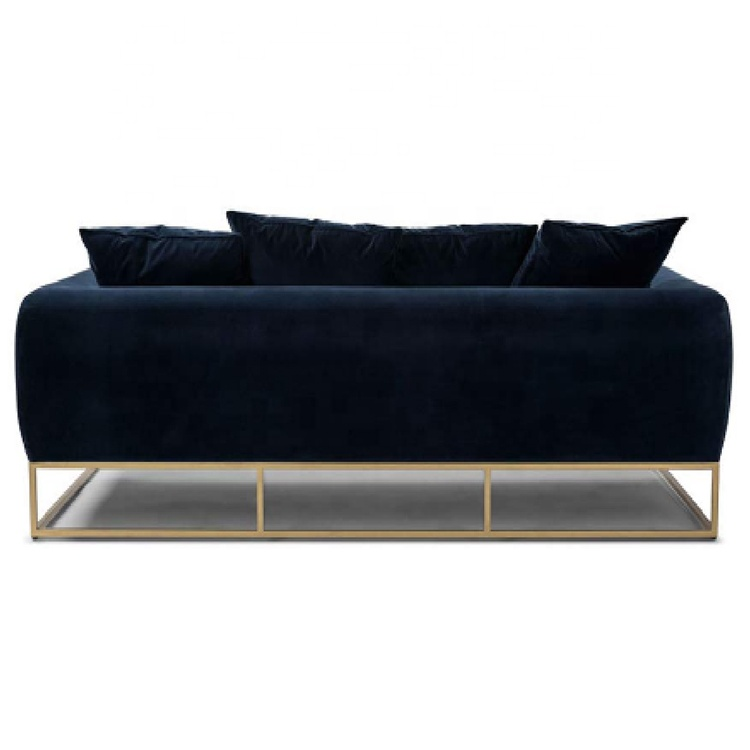 Wholesale custom modern velvet diwan sofa set designs modern l shape sofa